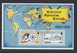 GIBRALTAR USED MICJEL BL 11 RALEIGH - Gibraltar