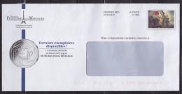 = Enveloppe Monnaie De Paris Fictif Représentant La Marianne De Delacroix Destinéo MD7 - Enteros Postales