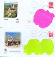 PAP Oblitéré Château De Bescatel , Aveyron - Autres