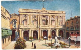 "Tuck's ""Wide, Wide World"" Malta, Series III No. 7568 Piazza Regina - Malta"