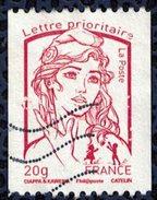 France 2013 Oblitéré Used Marianne Ciappa Et Kawena Pour Roulette LP 20 Gr Y&T 4779 - 2013-... Marianne De Ciappa-Kawena