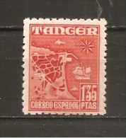 Tánger Español - Edifil 162 - Yvert 376 (MNH/**) - Marruecos Español