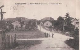 BEAUMOTTE Les MONTBOZON Entrée Du Pays (1926) - Altri Comuni