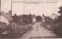 BEAUMOTTE Les MONTBOZON Entrée Du Village Route De Montbozon - Altri Comuni