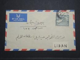 CHYPRE - Env Pour Le Liban Par Avion - Avril 1955 - A Voir - P 14985 - Chypre (République)