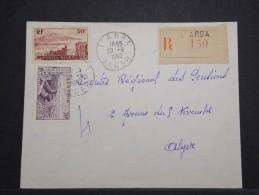 ALGERIE - Env L'Arba Pour Alger - Aoùt 1957 - Affr Plaisant - A Voir - P 14986 - Algérie (1924-1962)
