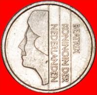 ★PORTRAIT RIGHT: NETHERLANDS ★ 25 CENTS 1987!!! LOW START★NO RESERVE! Beatrix (1980-2013) - [ 3] 1815-… : Kingdom Of The Netherlands