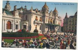 MONTE CARLO  Le Casino Hotel De Paris  Neuve Excellent état - Les Terrasses