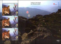 PORTUGAL, 1999, EUROPA,  NATIONAL PARKS, MOUNTAINS, WOLF, AF#B.212, SS, MNH - Postzegels