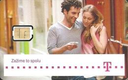 T-MOBILE * MOBILE * GSM * SIM CARD * WOMAN * GIRL * MAN * BOY * T-Mobile 14 * Slovakia - Slovaquie