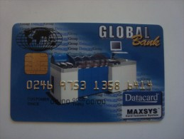 GLOBAL BANK - DATA CARD - Other Collections