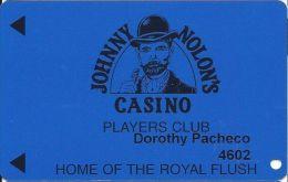 Johnny Nolon´s Casino Cripple Creek CO - 4th Issue Slot Card 11mm Mag Stripe (PRINTED) - Casino Cards
