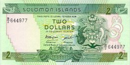 Solomon Islands 2 Dollars 1986 Pick 13 UNC - Salomons