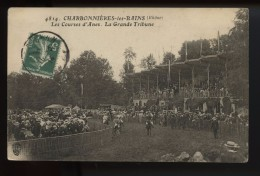 Charbonnieres Les Bains Les Cours D Anes La Grande Tribune - Charbonniere Les Bains