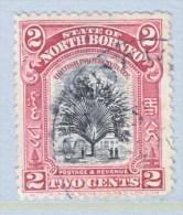 North Borneo 168   (o)   FLORA  TRAVELERS PALM TREE - North Borneo (...-1963)