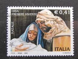 ITALIA USATI 2002 - NATALE 2002 - SASSONE 2659 - RIF. G 2169 - 1^ SCELTA - 6. 1946-.. Repubblica