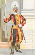Vatican - Guardia Svizzera Pontificia In Alta Tenuta - Edition E. Richter - Carte Précurseur Non Circulée - Vatican