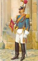 Vatican - Guardia Nobile Pontificia - Trombettiere - Carte Non Circulée - Vatican
