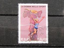 ITALIA USATI 2002 - LE DONNE NELLO SPORT - SASSONE 2662 - RIF. G 2172 - 1^ SCELTA - 6. 1946-.. Repubblica