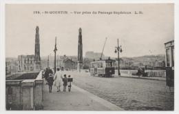 02 AISNE - SAINT QUENTIN  Vue Prise Du Passage Supérieur - Saint Quentin