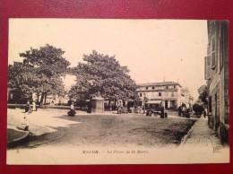 71 Saone Et Loire Cpa MACON La Place De La Barre (hotel De Bourgogne) - Macon