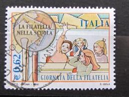 ITALIA USATI 2002 - GIORNATA DELLA FILATELIA - SASSONE 2665 - RIF. G 2174 - LUSSO - 6. 1946-.. Repubblica