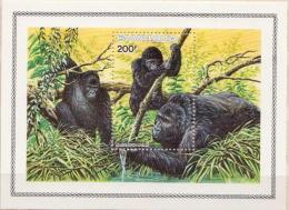 Ruanda MNH Gorillas SS - Gorillas