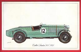 """- Fiche Illustrée. Voiture - Talbot-London """"105"""" 1931 - - Coches"""