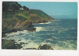 Coastline At Polperro Cornwall Postcard 921a - Angleterre
