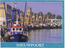 Cpm  NIEUWPOORT - Visvangst