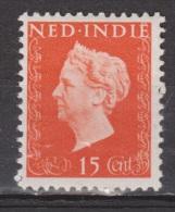 Nederlands Indie Netherlands Indies Dutch Indies 337 MLH ; Koningin, Queen, Reine ,reina Wilhelmina 1948 - Niederländisch-Indien