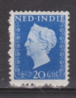 Nederlands Indie Netherlands Indies Dutch Indies 338 MLH ; Koningin, Queen, Reine ,reina Wilhelmina 1948 - Nederlands-Indië