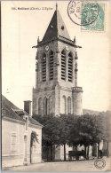 18 MEILLANT - Vue De L'église Â… - Meillant
