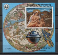 Paraguay Paintings Art Rubens 1977 Mi Bl#292 MNH - Rubens