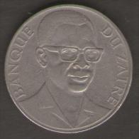ZAIRE 10 MAKUTA 1975 - Zaïre (1971-97)