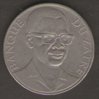 ZAIRE 10 MAKUTA 1975 - Zaire (1971-97)