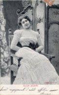 Cartolina ELISA SEVERI Attrice Anno 1904 (Alterocca Terni 1394) - OTTIMA L92 - Artisti