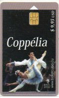 Danse Ballet Coppelia  Musique Muscic Télécarte Cuba Phonecard  (196) - Cuba