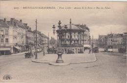 Brussel  Place Liedts  Avenue De La Reine Et Rue Des Palais   Kiosk  Tram         Nr 6113 - Places, Squares