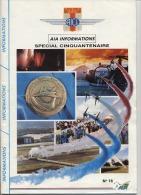 63  -  MILITARIA  -  MINISTERE DES ARMEES  - A.I.C.L.  -  A.I.A. CLERMONT FERRAND - Spéciale Cinquantenaire - Catalogues