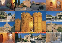Old Town Of Rhodes Rhodos - Mehrbildkarte 2004 - Ansichtskarten