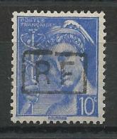 1944 - LIBERATION POITIERS * - RARE 10c MERCURE Avec SURCHARGE TYPE III NON REFERENCE Par MAYER - SIGNE SCHELLER - Liberación