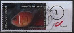 België 2012 ATM Roze Anemoonvis - Poisson - Gebraucht