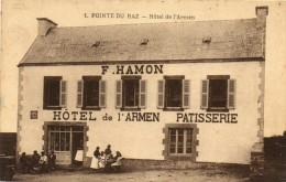 PLOGOFF - POINTE DU RAZ HOTEL L'ARMEN PATISSERIE - Plogoff