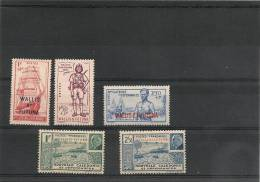 WALLIS ET FUTUNA Timbres* N° 87 à 91 - Wallis-Et-Futuna