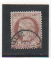 FR 1872 YT N° 51 Oblitéré - 1871-1875 Cérès