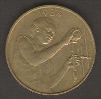 ETATS DE L´AFRIQUE DEL´OVEST 25 FRANCS 1984 - Monete