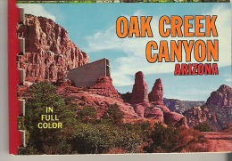 """Oak Creek Canyon, Arizona In Full Color 4"""" X 3""""  17 Pages - Exploration/Travel"""