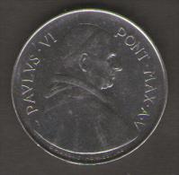 VATICANO 50 LIRE 1967 PAULUS VI - Vaticano