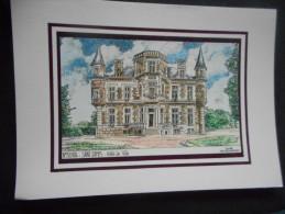 """YVES DUCOURTIOUX N° 40104 - SAINT JAMES """"Hôtel De Ville"""" - Prints & Engravings"""